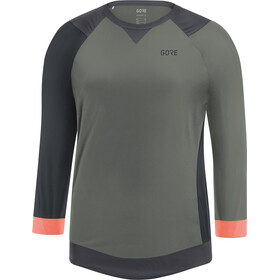 GORE WEAR C5 All Mountain 3/4 Jersey Women castor grey/terra grey